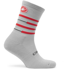 Castelli Incendio 15 Stretch-Knit Cycling Socks