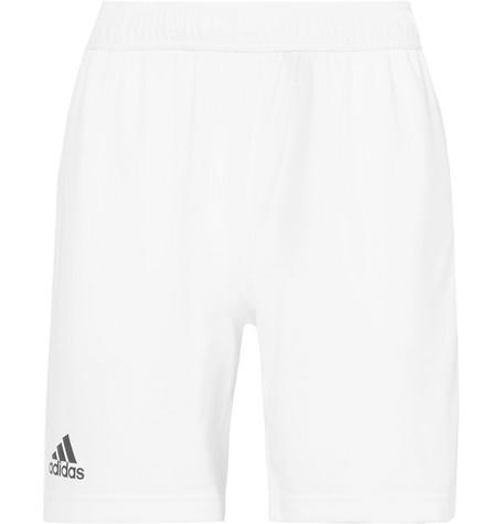Adidas Originals Climachill Tennis Shorts In White