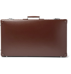 "Globe-Trotter - 30"" Leather-Trimmed Suitcase"