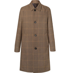 Wooyoungmi - Prince of Wales Checked Wool Overcoat