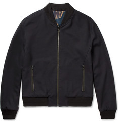 Wooyoungmi Reversible Stretch-Wool Bomber Jacket