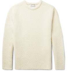 Wooyoungmi Slim-Fit Ribbed Alpaca-Blend Sweater