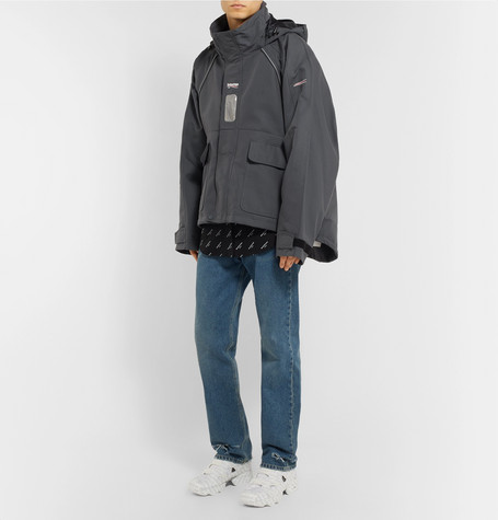 Canvas Hooded Parka by Balenciaga
