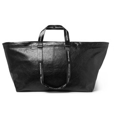 Balenciaga Arena Creased-Leather Holdall
