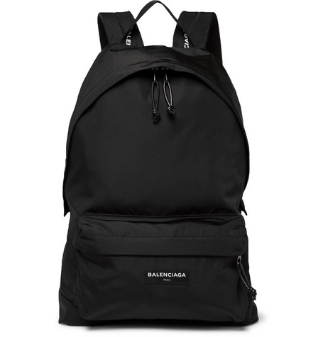 Explorer Canvas Backpack - Black