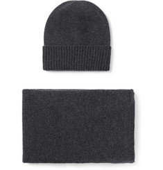 William Lockie - Cashmere Hat and Scarf Set
