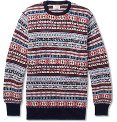 William Lockie Fair Isle Cashmere Sweater