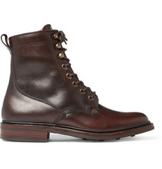 Cheaney Scott Shearling-Lined Leather Boots