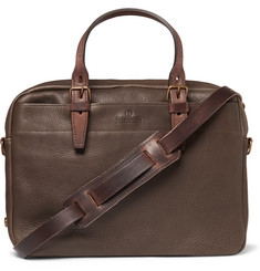 Bleu de Chauffe - Leather Briefcase