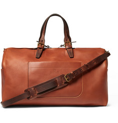 Bleu de Chauffe Voyager Leather Holdall