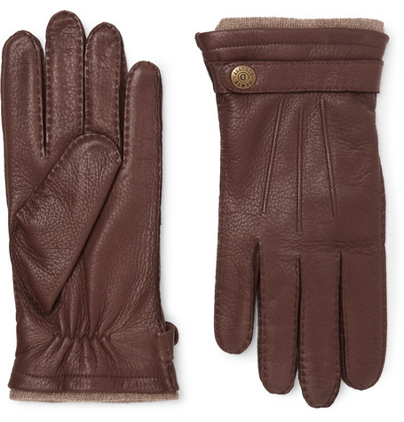 Gloucester Cashmere-lined Leather Gloves