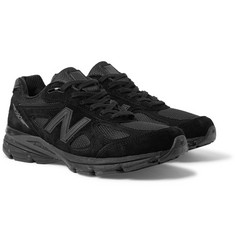 New Balance 990v4 Suede and Mesh Sneakers