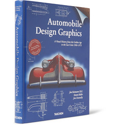 Taschen - Automobile Design Graphics Hardcover Book