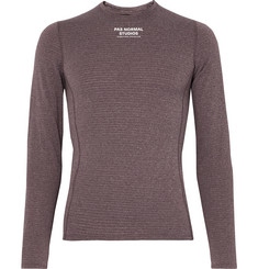 Pas Normal Studios Road to Nowhere Polartec-Lined Stretch-Jersey Cycling Base Layer