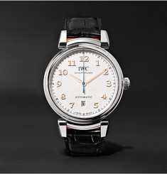 IWC SCHAFFHAUSEN Da Vinci 40mm Stainless Steel and Alligator Watch