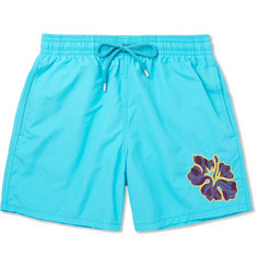 Vilebrequin Moorea Mid-Length Appliquéd Swim Shorts