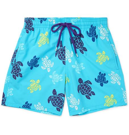 b4f09b2dd5 Vilebrequin Men Swimwear - Tortues Multicolores Long Cut Swim Shorts - Swimming  Trunk - Okoa In