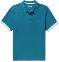 Vilebrequin - Palatin Slim-Fit Contrast-Tipped Cotton-Piqué Polo Shirt
