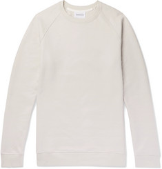 Norse Projects Ketel Mercerised Cotton-Blend Jersey Sweatshirt