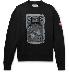 Cav Empt - Printed Loopback Cotton-Jersey Sweatshirt