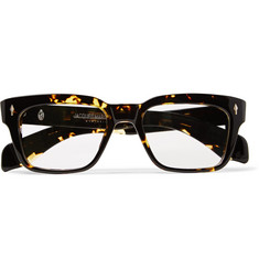 Jacques Marie Mage Molino Square-Frame Tortoiseshell Acetate Optical Glasses