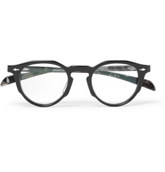 Jacques Marie Mage Sheridan Round-Frame Acetate Optical Glasses