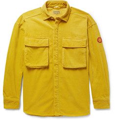 Cav Empt Oversized Appliquéd Cotton-Corduroy Shirt