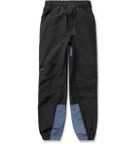 excellent Two-tone Cotton-twill Drawstring Shorts - BlueCav Empt Qualité Escompte Élevé Sites À Bas Prix 2OE0Vxqi3