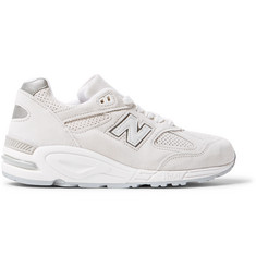 New Balance 990v2 Winter Peaks Suede Sneakers