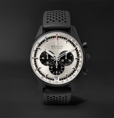 Zenith El Primero Chronomaster 1969 42mm Ceramicised Aluminium and Rubber Watch