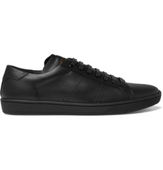 Saint Laurent SL/01 Court Classic Leather Sneakers