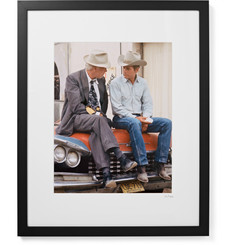 Sonic Editions Framed Paul Newman and Lee Marvin Pocket Money Print, 17