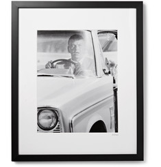 Sonic Editions Framed Frank Sinatra, Lady in Cement Print, 17