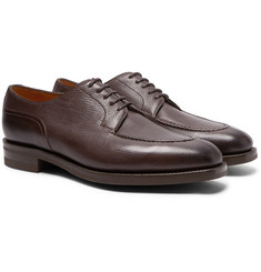 Edward Green - Dover Textured-Leather Derby Shoes