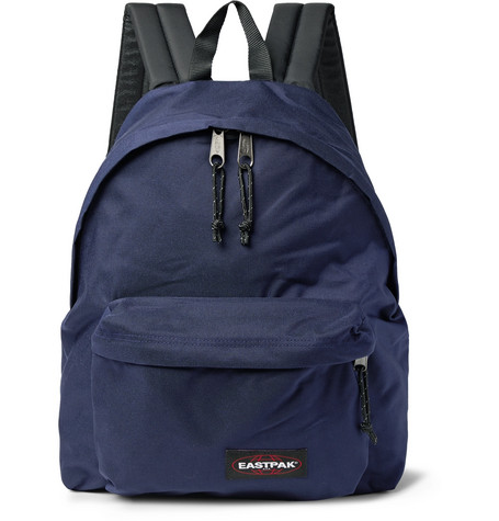 eastpak male padded pakr canvas backpack
