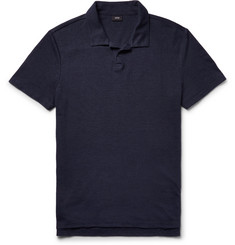 Onia - Shaun Slim-Fit Linen-Blend Polo Shirt