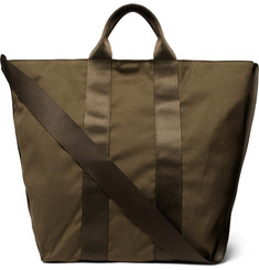 nonnative - Adventurer Webbing-Trimmed Canvas Tote Bag