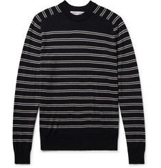Orlebar Brown Lucas Slim-Fit Striped Merino Wool Sweater