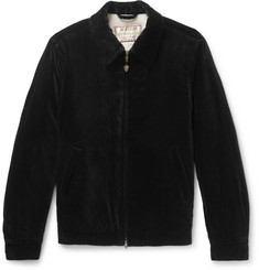 Wacko Maria + McGregor Cotton-Velvet Bomber Jacket