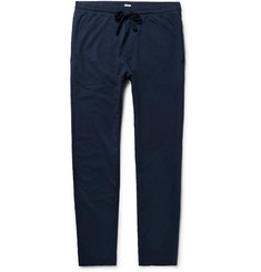 Schiesser Anton Slim-Fit Tapered Loopback Cotton-Jersey Sweatpants