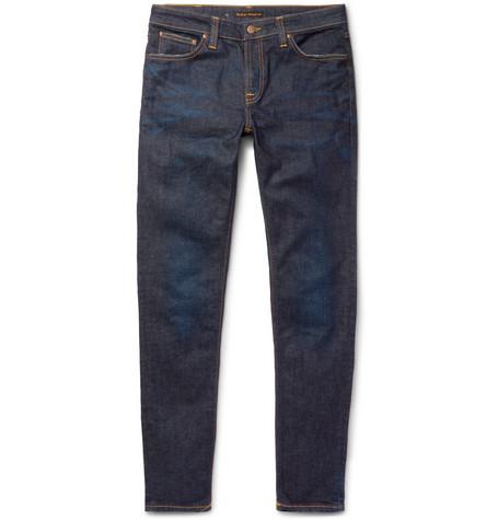 Skinny Lin Organic Stretch-denim Jeans - Indigo