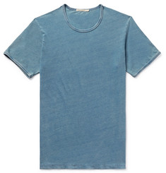 Nudie Jeans Kurt Slim-Fit Indigo-Dyed Organic Cotton-Jersey T-Shirt