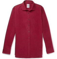 Cordings Linton Cotton-Moleskin Shirt