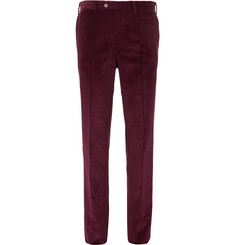 Needle Cotton Corduroy Trousers by Cordings