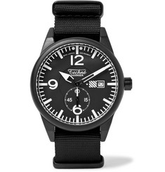 Techne Watches - Harrier 386 41mm Aluminium and Nylon Watch