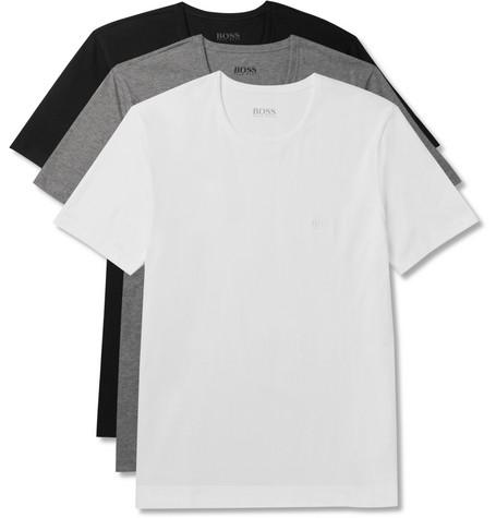 1a1bcf220961d1 Hugo Boss - Three-Pack Cotton-Jersey T-Shirts