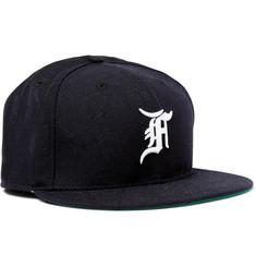 7d7f65f04d1 Fear of God + New Era Embroidered Wool Baseball Cap