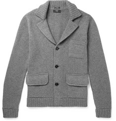 Hugo Boss Slim-Fit Virgin Wool, Silk and Cashmere-Blend Cardigan