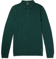 Hugo Boss - Virgin Wool Polo Shirt
