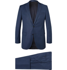 Hugo Boss Navy Novan Virgin Wool Three-Piece Suit
